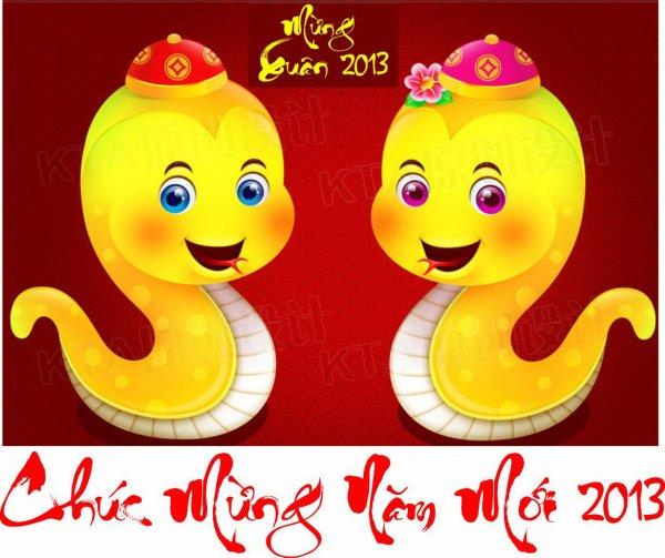 Tết Qúy Tỵ - Tết con rắn 2013