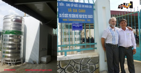 Mai 2013 - Contrat rempli à Xã Gia Canh