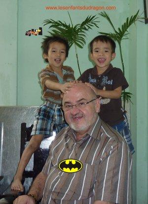 Une donatrice au Vietnam