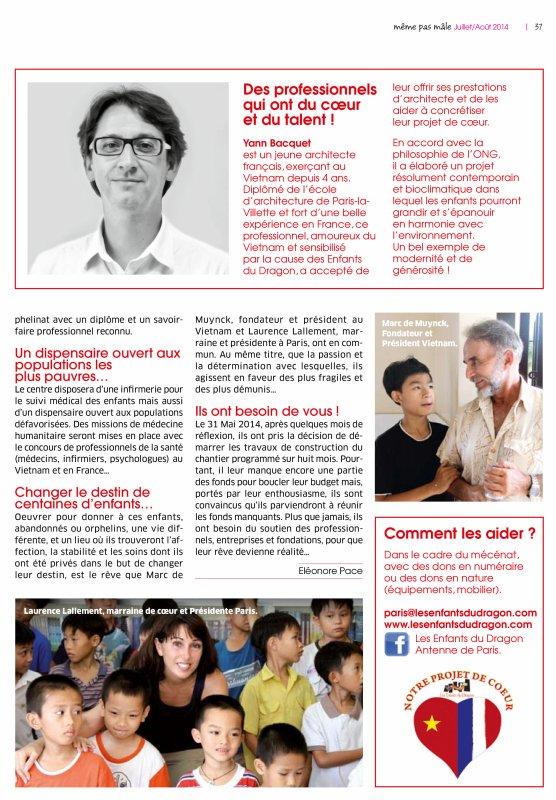 Paru dans la presse - Juin 2014