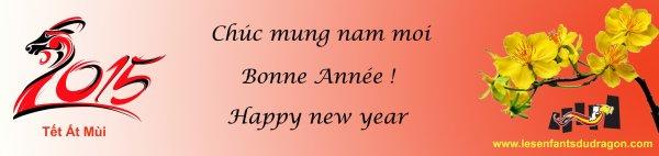 Bonne Année de la Chèvre !  Chúc Mừng Nǎm Mới 2015 !