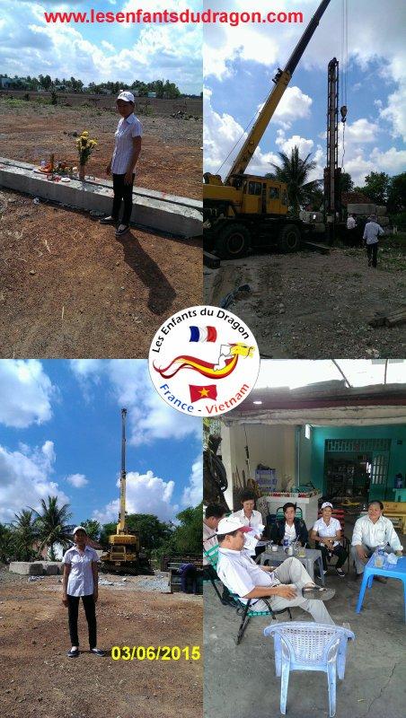 Suivi des travaux de construction de l'orphelinat