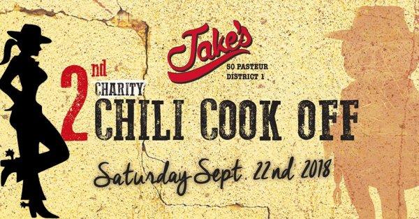 CHILI COOK-OFF de charité de Jake