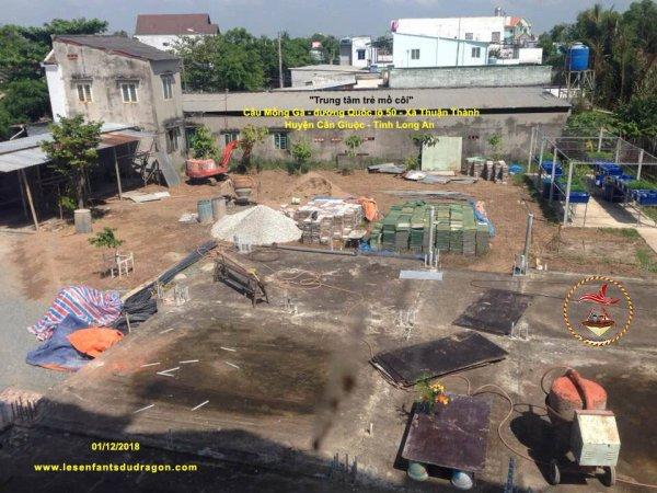 Construction de l'orphelinat PHOENIX - Suite et fin.