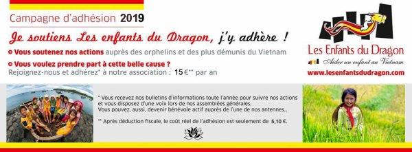 """Adhérez, soutenez """"Les Enfants Du Dragon"""" !"""