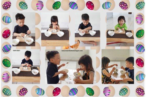 Activités des enfants de l'orphelinat Phoenix - 01/2021