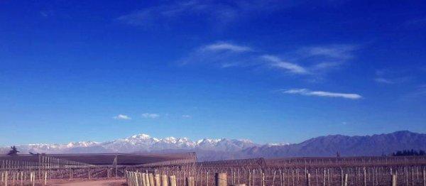 Andes Mountain en Argentine
