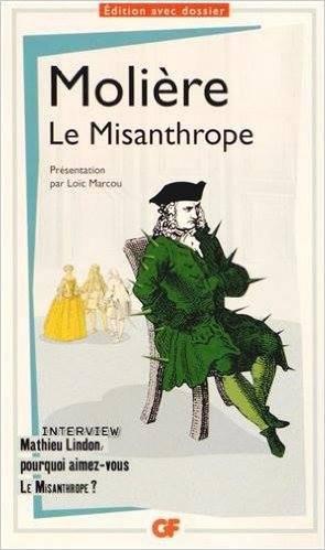 """""""Le Misanthrope"""" de Molière ..! Extrait :"""
