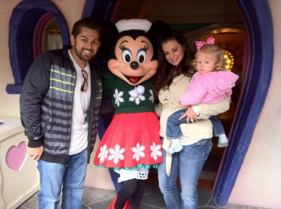 Candice Michelle et sa famille . . .