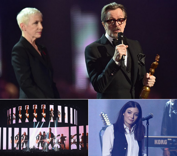David Bowie tribute at the Brit Awards