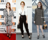 Emma Stone in Louis Vuitton outfit on the carpet