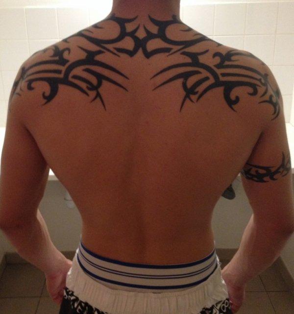 Mon tatoo enfin terminé ;D