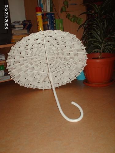 Support dragées ombrelle