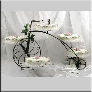 Présentoir en forme de vélo