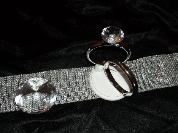 Figurine de mariage chic et glamour