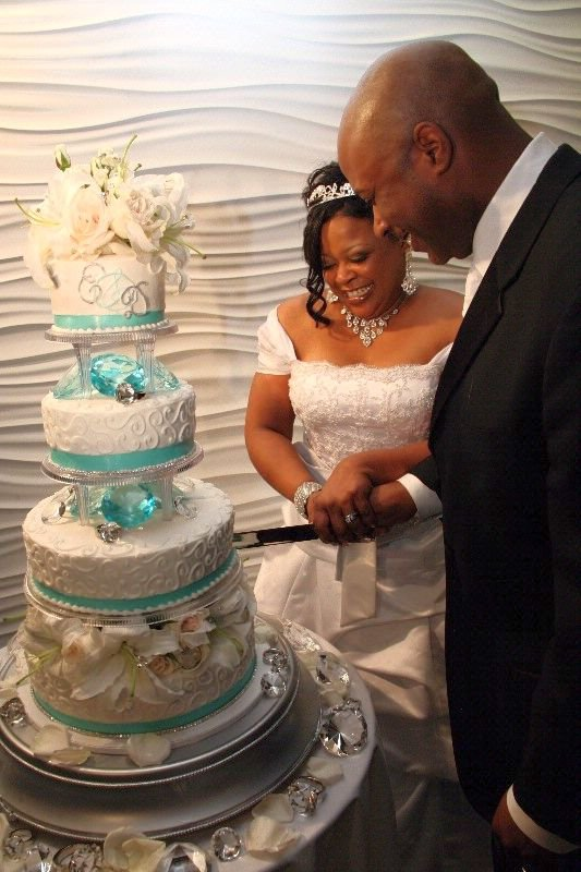 Pièce montée mariage Bling Bling