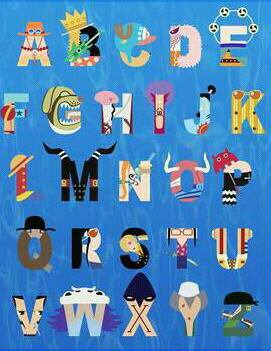 L'Alphabet One Piece