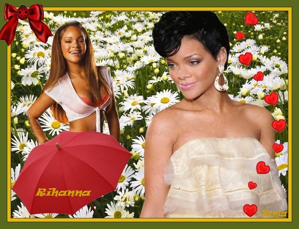 "LA SUBLIME RIHANNA ""DIAMOND""."