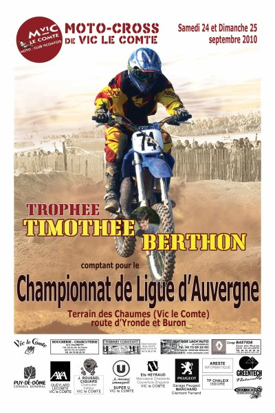 3éme TROPHÉE TIMOTHÉE BERTHON