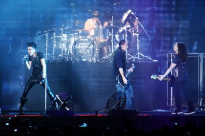 bill, tom , georg ,gustav lors du concert au Japon