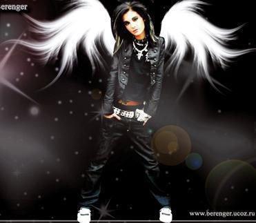 bill avec des ailes d'ange