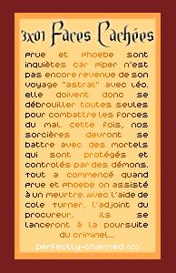 """Episode """" Faces Cachées"""" Créa / Texte / Déco Sommaire ____"""