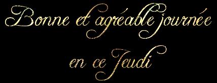 BONNE   SOIREE   DE  JEUDI   MES  AMIS   (E)