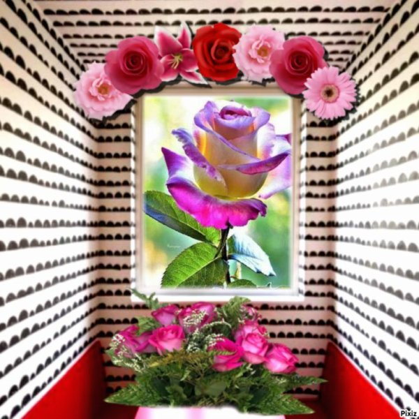 Cadeau  Offert   Par  Mon  Amie   Mille  Bisous ........