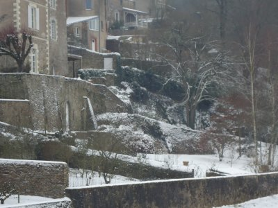 Mon village sous la neige ...