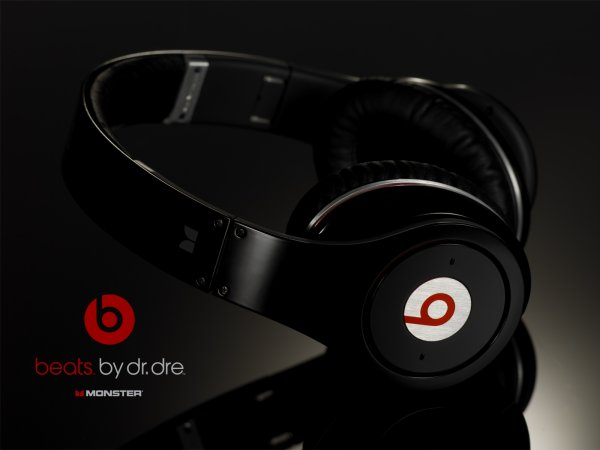 mon beats by dr dre studio :p