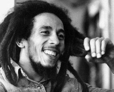 The king Bob Marley