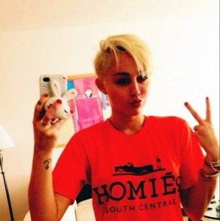 C Miley Cyrus maintenant