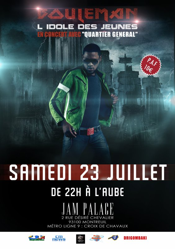 100% EVENEMENT : SORTIE OFFICIEL  EN CONCERT LIVE