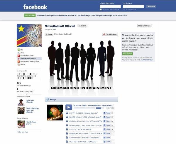 Rejoignez-nous L'ACTUALITE NDOMBOLHINO SUR NOTRE PAGE FACEBOOK OFFICIELLE