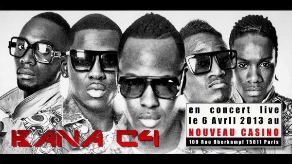 """Bana c4 : Nouvel album """"Jeunes Premiers"""" disponible + concert au Nouveau Casino le 06/04/2013"""