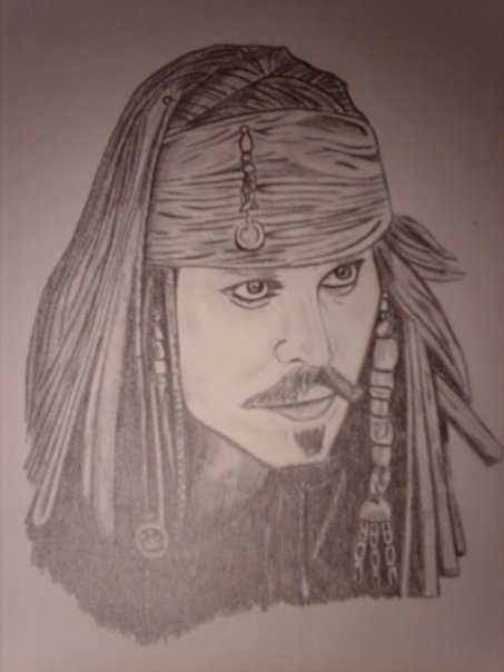 *Johnny depp* ----> Jacks sparrow