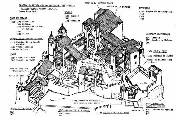 Chateau Fort Du Moyen Age