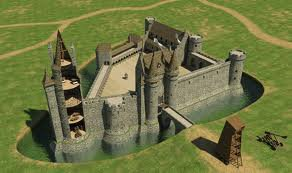 Chateau Fort Du Moyen Age 2