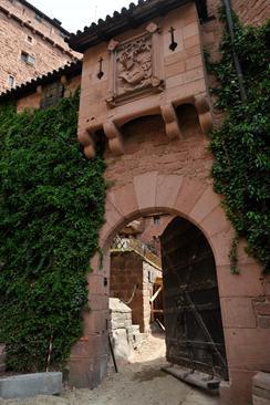 Château du Haut-Koenigsbourg-les travau