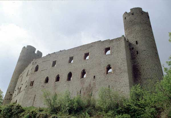 Le château d'Andlau