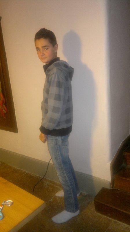Mon frère (l) ( Baptiste)
