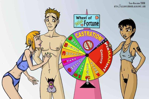 La roue de la fortune ou de la chasteté