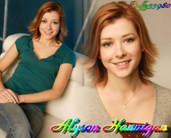 /!\ Alyson Hannigan /!\