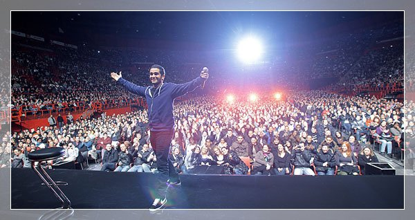 Malik Bentalha; Du mercredi au Samedi au Comedy club & en premiére partie de Jamel Debouzze