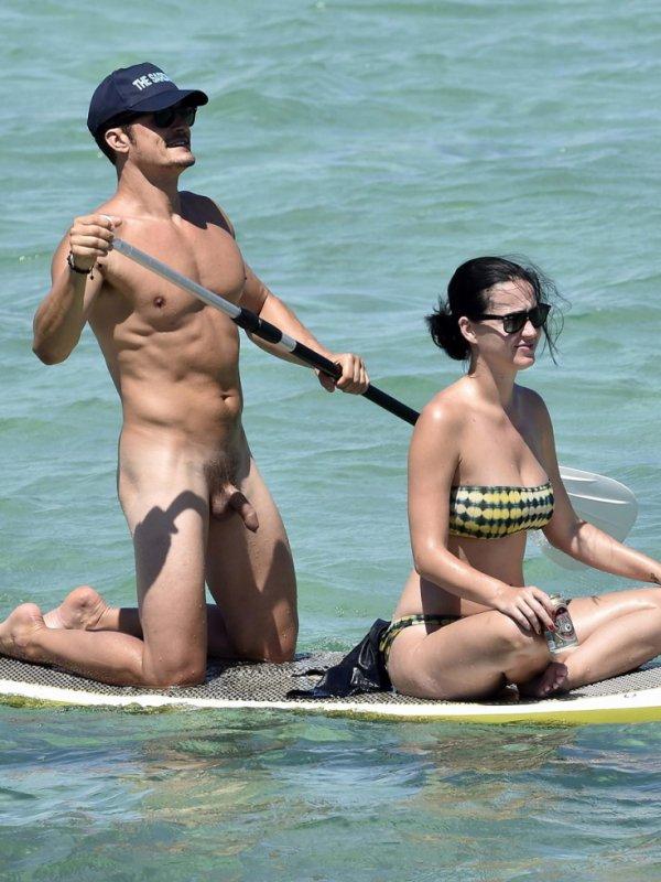 Orlando Bloom Warned Miranda Kerr About His Penis