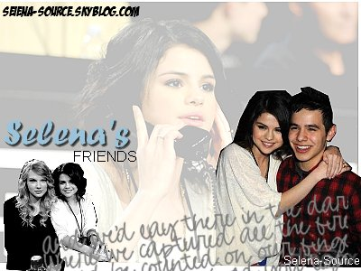 ..         Selena et ses amis Taylor Swift & David Archuleta étaient au Téléthon pour Haïti (Los Angeles).  ..
