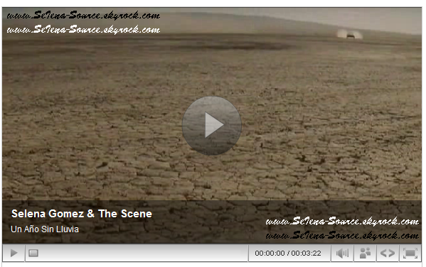 "..  Découvrez en exclusivité le clip  ""Un Año Sin Ver Llover"" (AYWR Version Espagnole)  .."