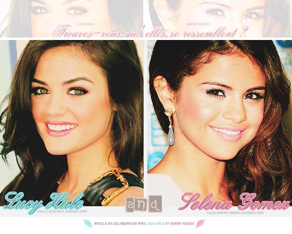 ..  Lucy Hale & Selena Gomez / Article en collaboration avec mon adorable affiliée LucylHale ;)  ..