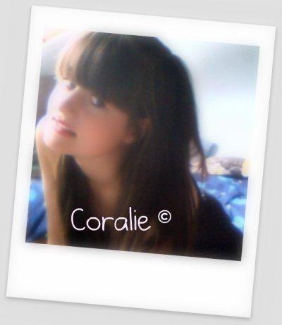 Coralie♠ 16 ans ♥ 17 mars ♣ Verviers ♦ A.M.O.U.R.E.U.S.E