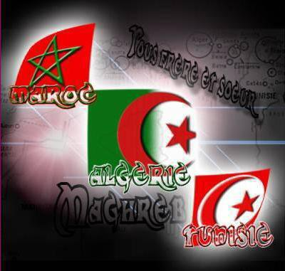 Maroc Algérie Tunisie reuni